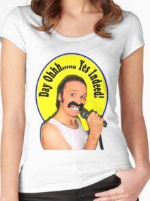 Stevie Riks - Freddie  T Shirt Women's Fitted Scoop T-Shirt