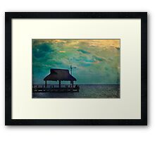 Sharing the Night Together Framed Print