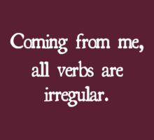 Irregular Verbs by sharontherose