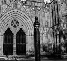 Lamp By York Minster by Mat Robinson