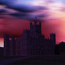 Downton Abbey Dusk by David Alexander Elder