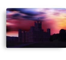 Downton Abbey Dusk Canvas Print