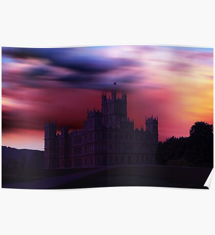 Downton Abbey Dusk Poster