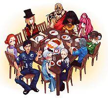 Zero Escape: Virtue's Last Meal by arisutan
