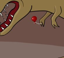 Dinosaur Balloon Oblivion Sticker