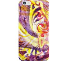 French Curve Abstract  Triptych iPhone Case/Skin