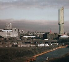 Manchester Skyline by Mike Atherford