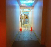 Hospital hallway  by Jeffrey  Sinnock