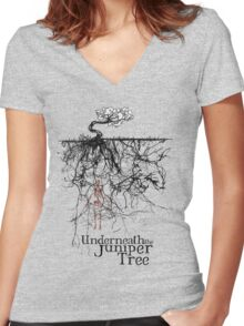 Underneath The Juniper Tree - Hoodie Women's Fitted V-Neck T-Shirt