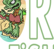 Gorn Fishin' Sticker