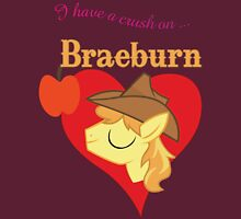 I have a crush on... Braeburn - with text Unisex T-Shirt