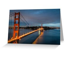 """Chrysopylae"" - Golden Gate Greeting Card"