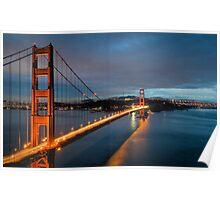 """Chrysopylae"" - Golden Gate Poster"