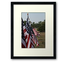 In Rememberance Framed Print