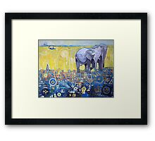 The Symbolic Pride Framed Print