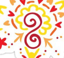 Doodle Fan Sticker