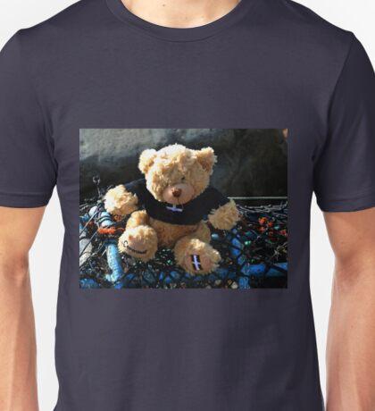 Arthur goes fishing.........Lyme Dorset UK Unisex T-Shirt