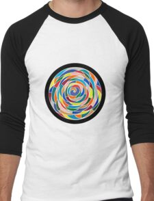 Swirling Abyss Men's Baseball ¾ T-Shirt