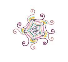 Swirly Gig Photographic Print