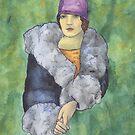 Aunt Bette's Coat by redqueenself