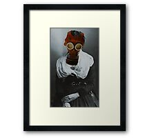I Am So Glad We Got Married, But! Don't You Think the World Is A Mess. Framed Print
