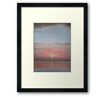 'Burnham Sunset 2' Framed Print