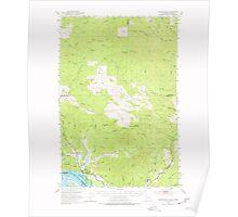 USGS Topo Map Washington Skamokawa 243741 1953 62500 Poster