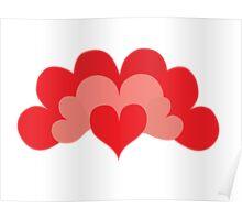 Heart Fan Poster
