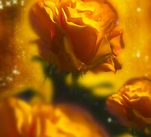 Golden Roses by Svetlana Sewell