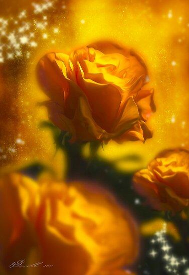 Golden Roses by Svetlana Sewell