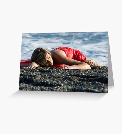 Red Siren Greeting Card
