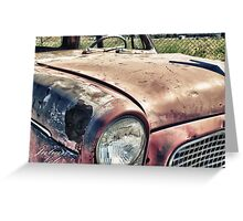 yet another old car Greeting Card