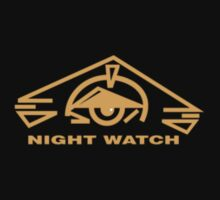 B5 Night Watch Small Logo by Christopher Bunye