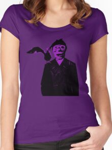 Sailor - Purple Women's Fitted Scoop T-Shirt
