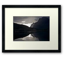 7 ★★★★★.Lofoten Magic landscape. . by Brown Sugar . Views (358) Thx! Framed Print