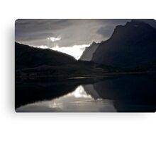 7 ★★★★★.Lofoten Magic landscape. . by Brown Sugar . Views (358) Thx! Canvas Print
