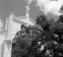 Key West Church by AnalogSoulPhoto