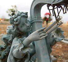 Broken Harp by rosaliemcm