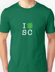 I (Club) SC (white letters) Unisex T-Shirt