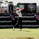 Adam Scott Australian Open Golf by Mick Duck