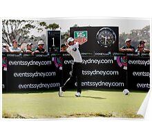 Adam Scott Australian Open Golf Poster
