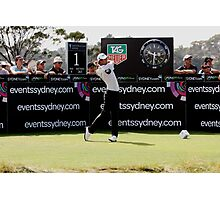 Adam Scott Australian Open Golf Photographic Print