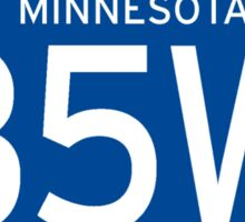 Interstate 35W Sign, Minnesota Sticker