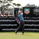 Stuart Appleby Australian Open by Mick Duck