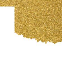 Gold Oklahoma map Sticker