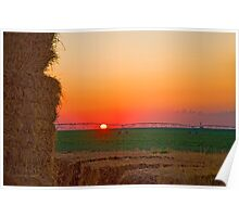 Magic Valley Sunset Poster