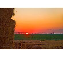 Magic Valley Sunset Photographic Print