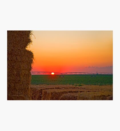 Magic Valley Sunset Photographic Print
