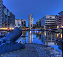 Clarence Dock - Royal Armories - Leeds by David Stevens