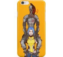 zero & maya iPhone Case/Skin